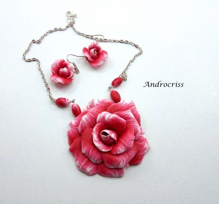 Rose -set bijuterii