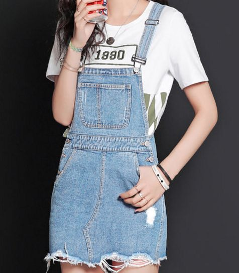 The Pink Illusion: It's all about overalls!