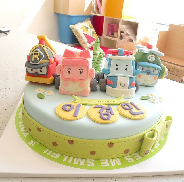 BCK RoboCar Poly Cake | Flickr : partage de photos !