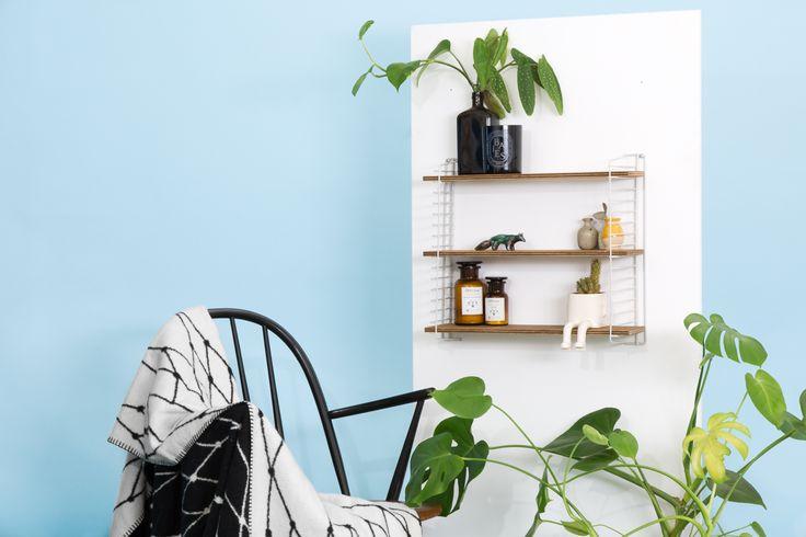 DIY étagère String, comment réaliser une étagère murale style scandinave by ADC pour Le Bon Coin