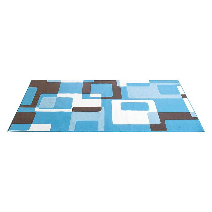 Teppich Retro - 200 x 290 cm - Hellblau, Hanse Home Collection