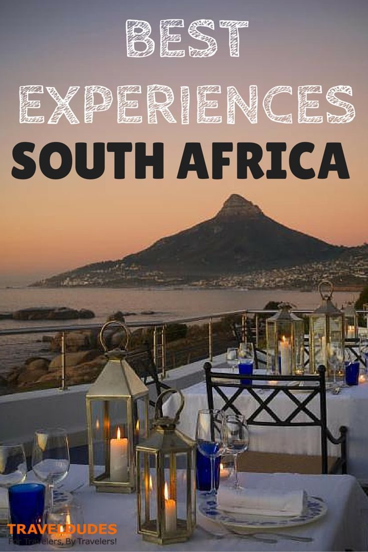 nice South Africa vacations best places to visit