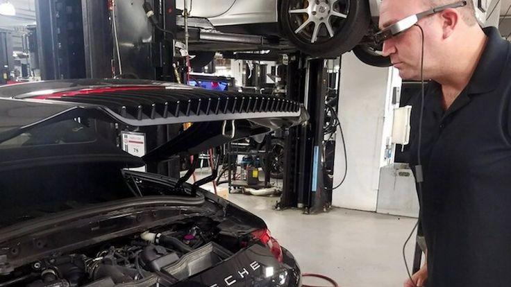 Porsche dealers krijgen hypermoderne brillen