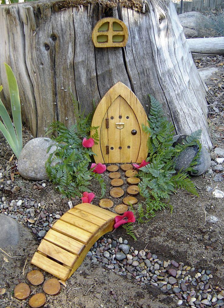 Miniature garden fairy door gnome door hobbit door elf for Fairy doors images