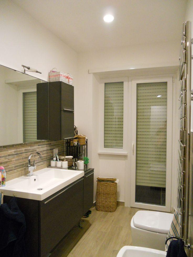 Bagno padronale ultimato qui nel controcampo con la zona - Progetto accessori bagno ...