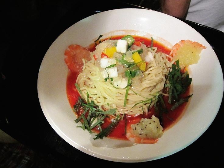 夏野菜のオシャレ中華