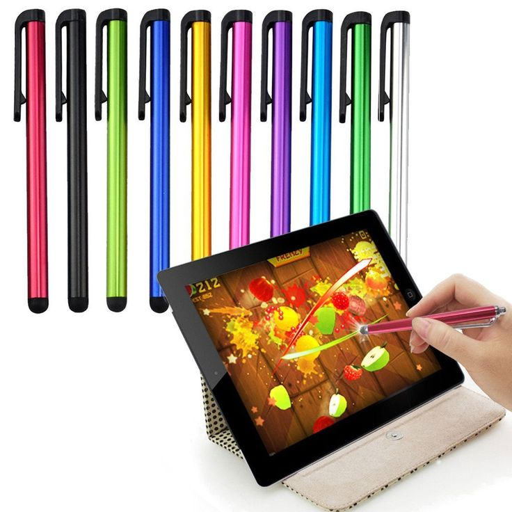 Alcatel Idol 4 Stylus Pen, Alcatel Idol 4S Stylus Pen, Alcatel Idol 4S With Windows Stylus Pen, Alcatel Lume Stylus Pen Capacitive Metal Touch Screen - 10 Pack ** New and awesome product awaits you, Read it now  : Free Computer Accessories Peripherals