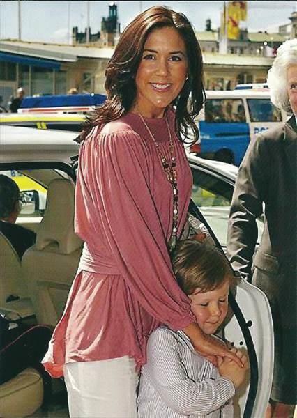 Kronprinsesse Mary & Prins Christian i Haderslev af Imse på QXL.
