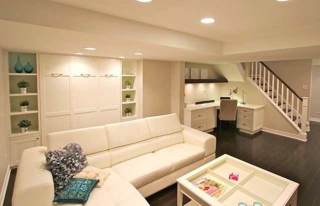 10 great ideas to for finished basements and rec rooms that provide extra living and play space. Some terrific inspiration for more living space.