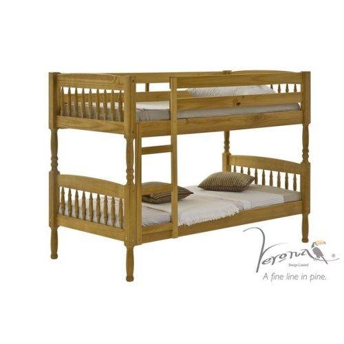 verona design ltd verona design milano bunk bed in antique pine kids bunk beds http - Hausgemachte Etagenbetten Bilder