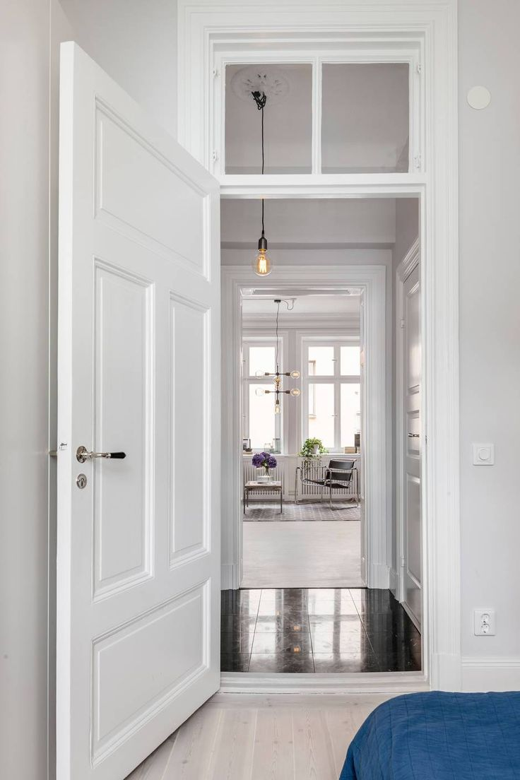17 mejores ideas sobre puertas blancas en pinterest for Puertas interiores blancas
