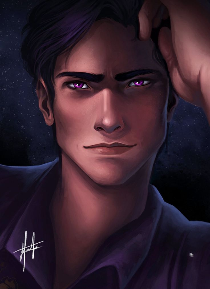 RHYS- credit to the the artist! This is exactly how I imagined him