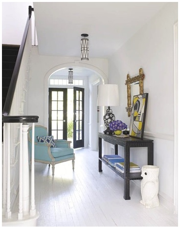 airyDecor, Doors, Chairs, White, Painting Floors, Homes, Jonathan Adler, Design, Entryway