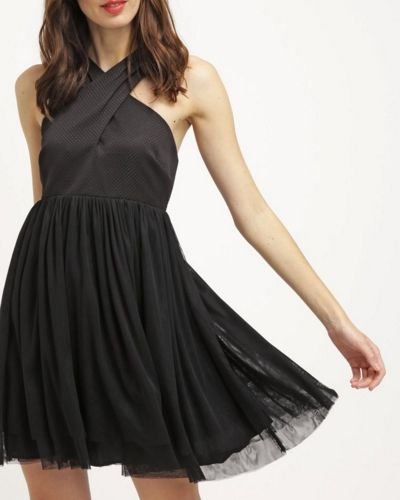 NAF NAF Sukienka letnia czarna noir