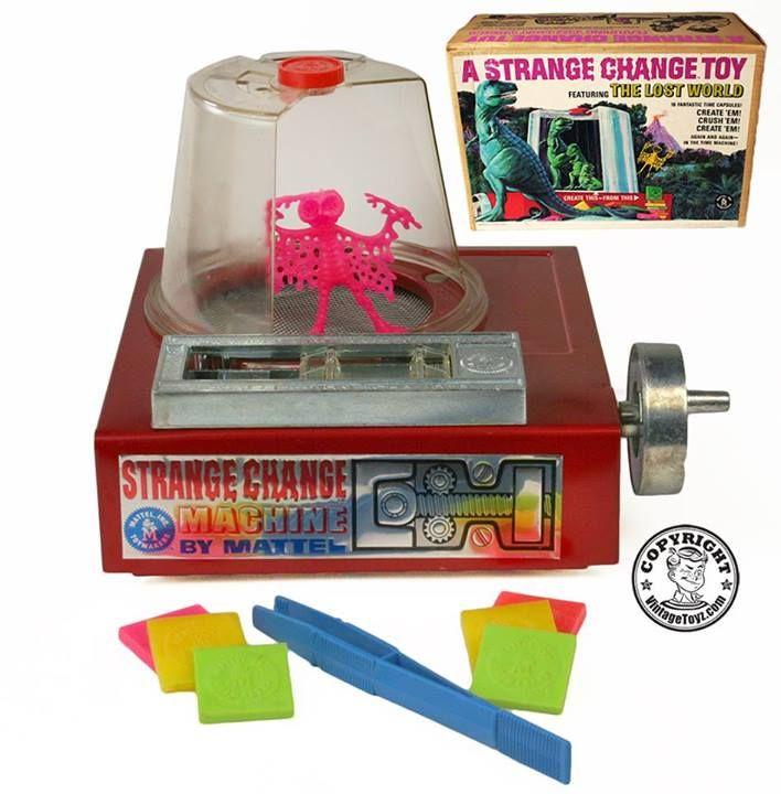 Strange Change Toy : A strange change toy by mattel toyz pinterest