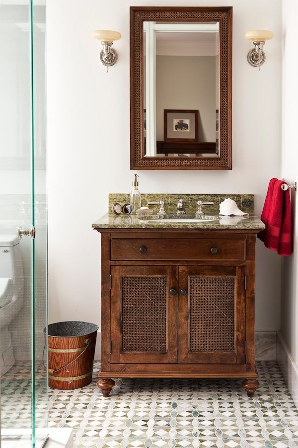 140 best images about beautiful baths on pinterest for Colonial style bathroom vanities