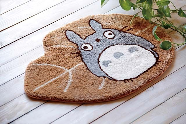 Totoro Mat, I wouldn't want to wipe my feet on it!
