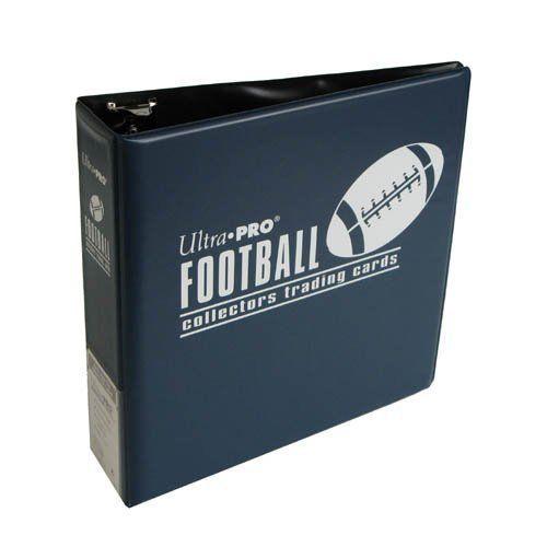 "Ultra Pro 3"" Blue Football Album"