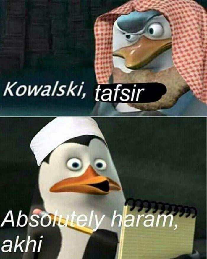 Absolutely Haram Akhi Teks Lucu Lucu