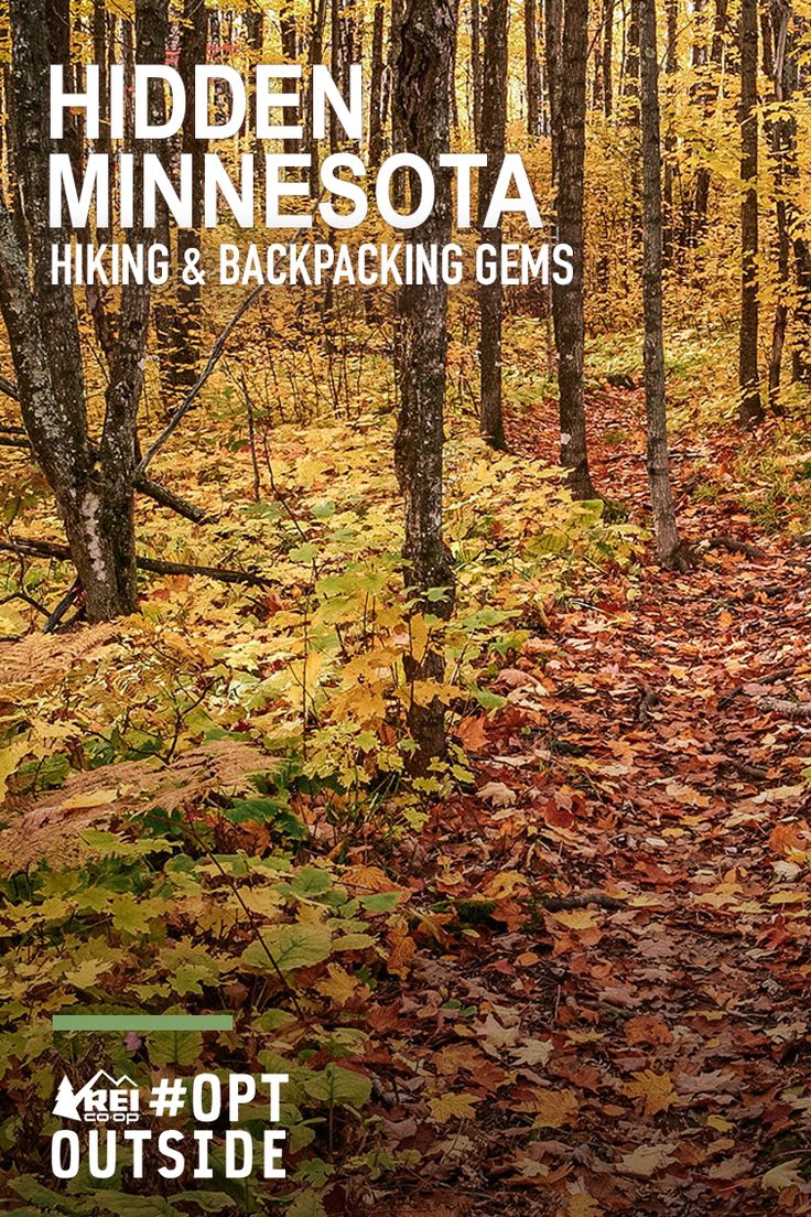 It's time to get out and finally do what you pin. Head on an out-and-back hike on a section of Minnesota's Superior Hiking Trail. This 310-mile footpath traverses a ridge overlooking Lake Superior, the world's largest freshwater lake. Grab your friends, family and gear for a fun adventure. Explore more trails in the area at optoutside.rei.com.