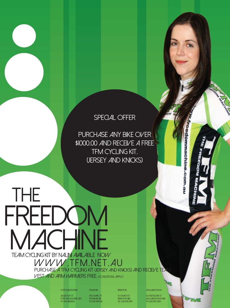 TFM Cycling Kit Promo #skmatic Skmatic Graphic Communication - Skmatic.net