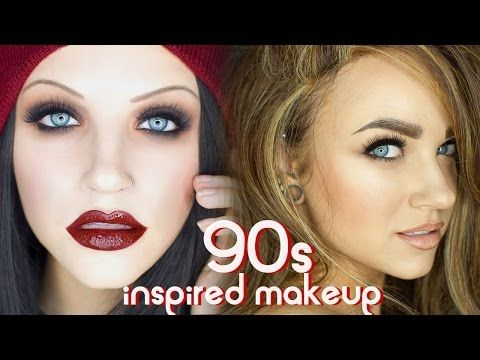 90s Grunge & Supermodel Glam Makeup Tutorial - YouTube ...