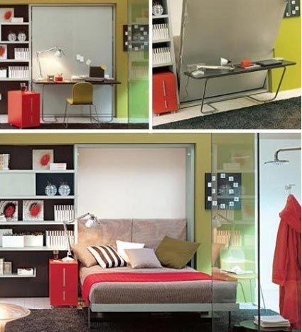 Camas Murphy: la opción para espacios pequeños - Decoración de Interiores y Exteriores - EstiloyDeco