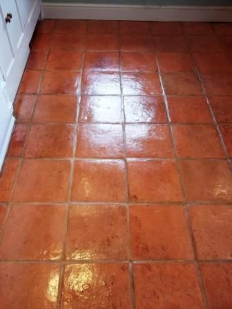 Spanish Tile Kitchen Floor