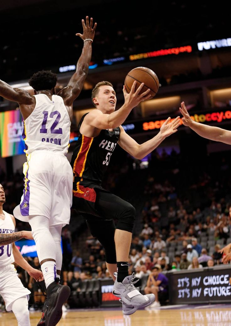 Heat S Duncan Robinson Showing All Around Game This Summer