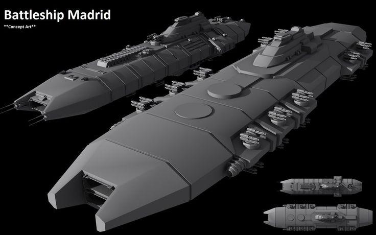 futuristic battleships | Downloads | Futuristic Battleship ...
