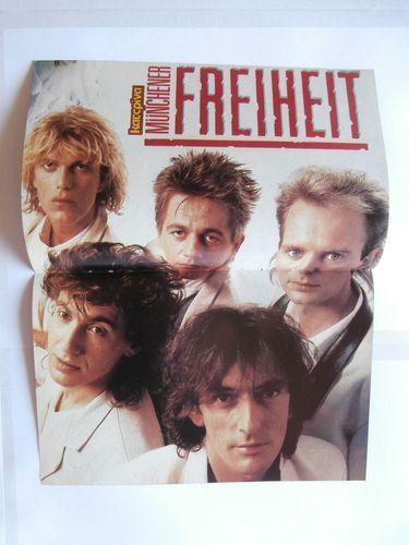 Munchener Freiheit T Tsanaklidou Poster Greek Magazines clippings 80s 90s   eBay
