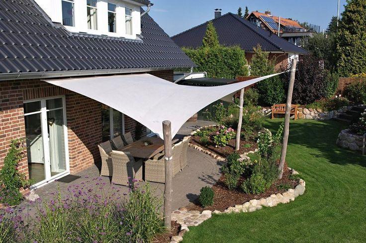Unglaubliches Sonnensiegel 3d L L B Ca 640 X 545 X 460 Cm Garten Garten Terrasse Sonnensegel Garten