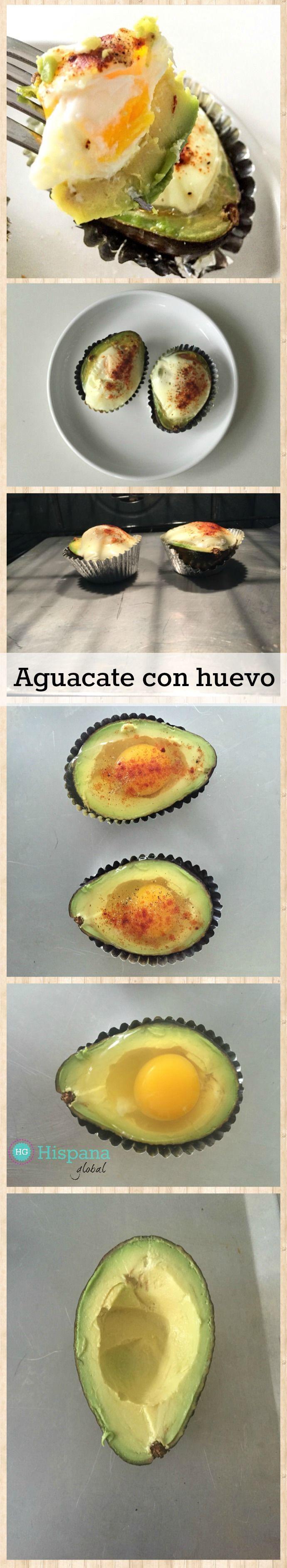 Precalentar el horno a 425° F (218º C). Cortar una palta o aguacate maduro por la mitad y quitarle el carozo o semilla. Con una cuchara agra...