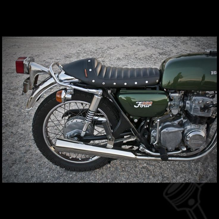 Old Motorcycle Seats : Best images about cafe racer on pinterest honda deus