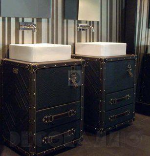 #bath_room #design #interior #furniture #тумба под #умывальник Alexandra Coleccion TRAVELER, Al Col16