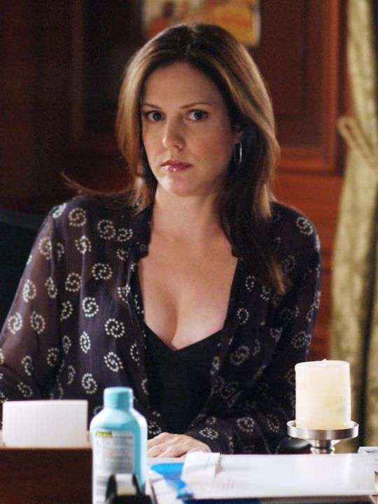 Mary Louise Parker as Amy Gardner in the West Wing