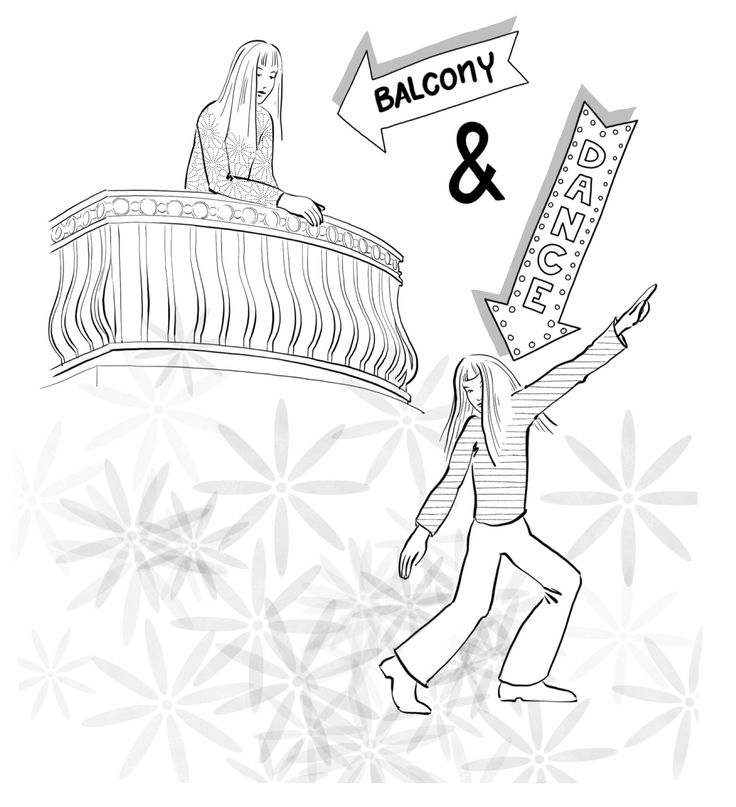 """Getting 'onto the balcony' allows us a bird's-eye view of our life instead of executing the same mindless motion over and over on the dance floor. To see how our thoughts create feelings and how these feelings result in behaviours that in turn create consequences in our life brings us to a point of choice. P.S.: If you want to be kept in the loop regarding my forthcoming book """"Why Does this Always Happen to Me?"""" click link in the image."""