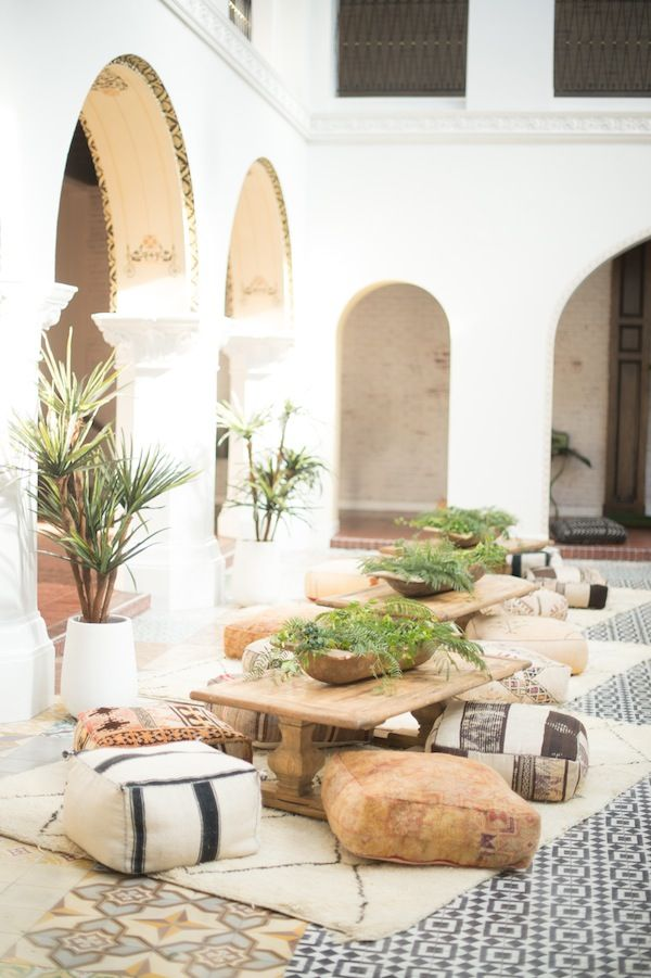 Outdoor Boho Spaces-  {INDI + TAN inspiration}