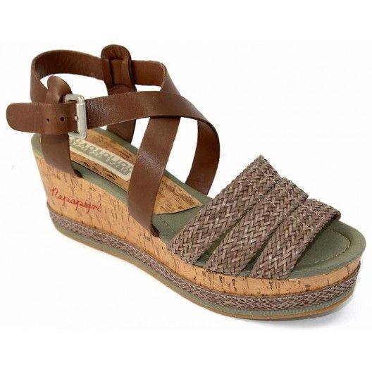 Napapijri Sandalias mujer 6360 en nuestro outlet http://www.zapaline.com/es/outlet-calzado-mujer/