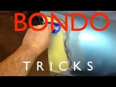 Bondo Tips and Tricks To Prevent Common Problems with Body Filler and Putty Glaze - YouTube