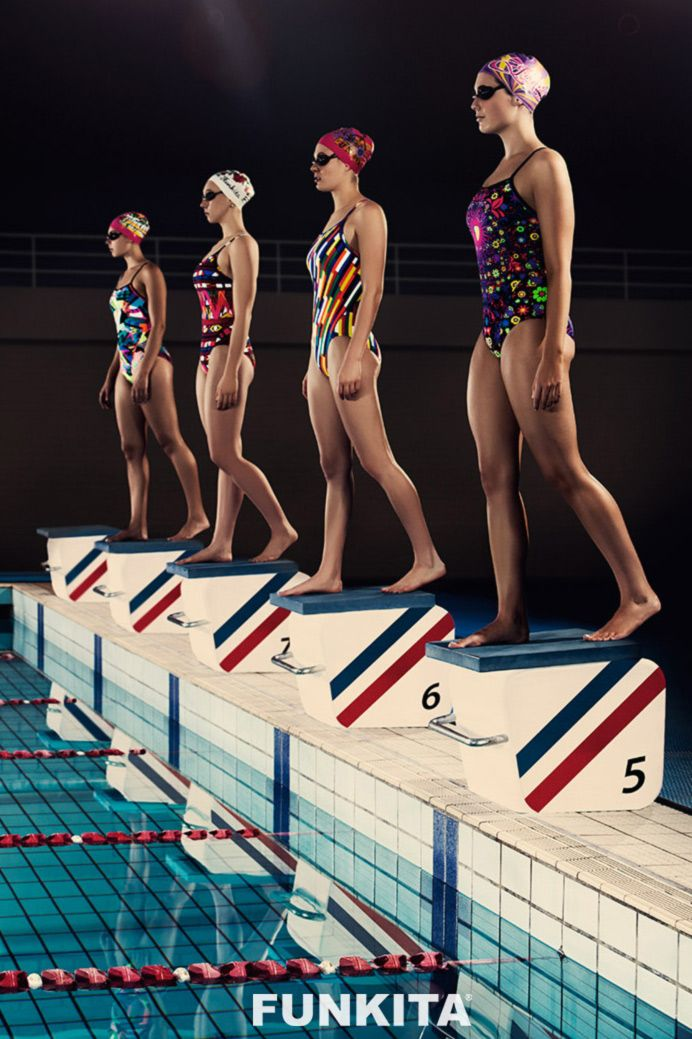 Ladies, we have an exclusive sneak peek of the new Funkita range hitting the stores in July. We're ready to race, are you?