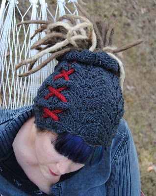 Knitting Pattern For Dreadlock Hat : 17 Best images about Knitsperation on Pinterest Free pattern, Loom and Knit...