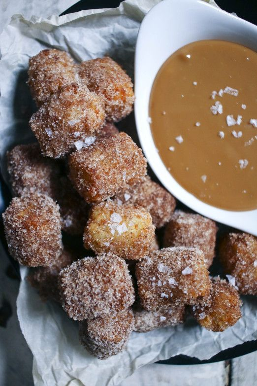 Churro Tater Tots with Homemade Dulce de Leche | I Will Not Eat Oysters