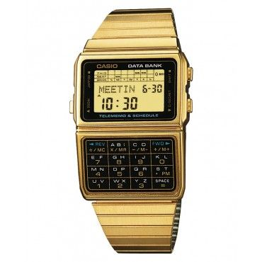 Casio Gold Telememo - DBC-611G-1 $129