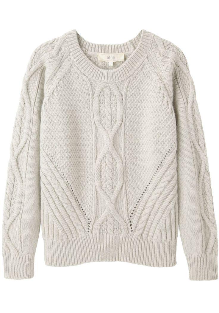 Vanessa Bruno Athé / Cable Knit Pullover | La Garçonne
