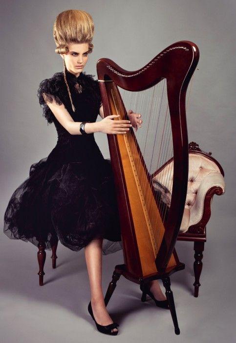 D'Amour Tulle Maxi Skirt (Black)