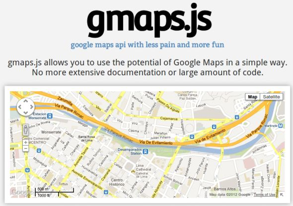 Create Google Maps With gmaps.js - Plugin jQuery