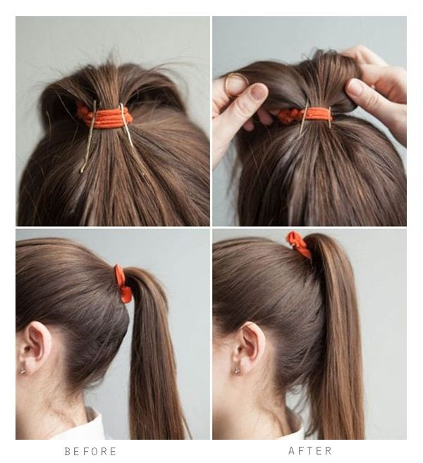 ponytail tips and tricks 33