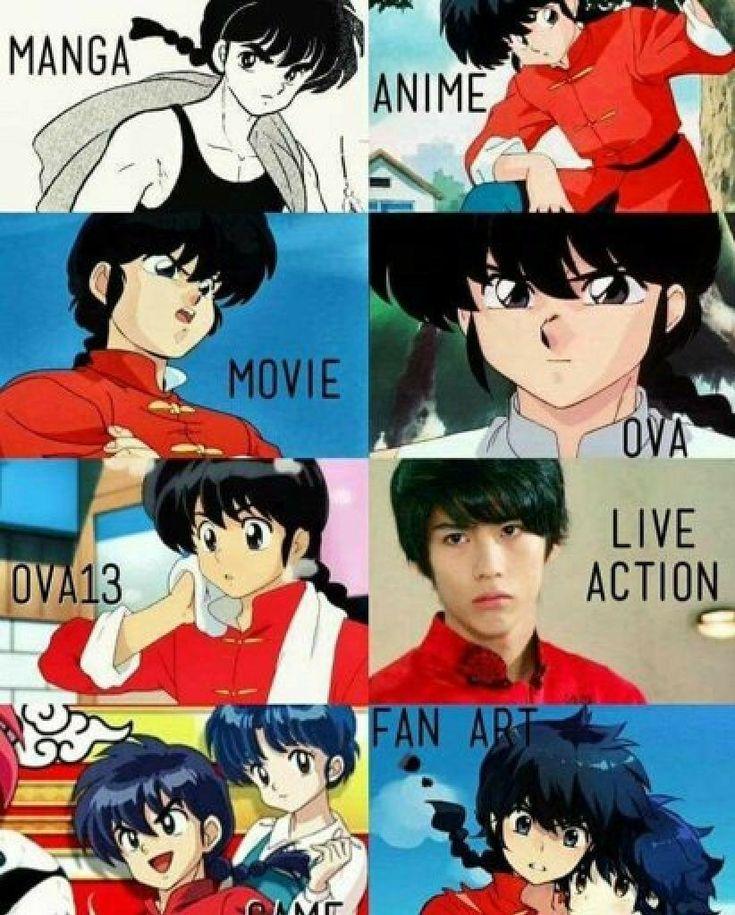 Cual Les Gusta Mas Ranma 1 2 Manga Ranma 1 2 Tsundere