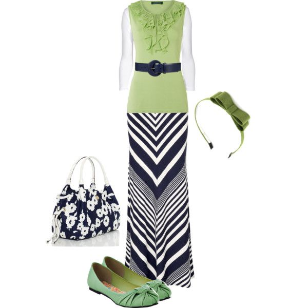 """Navy Lime White"" by trinity-holiness-girl on Polyvore"